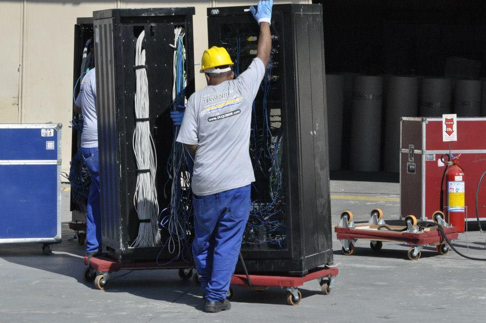 Transporte e embalagens especiais para sensíveis