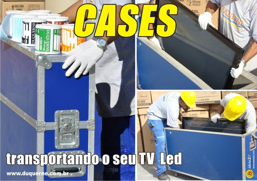 Cases para TVs e Mudanças RJ