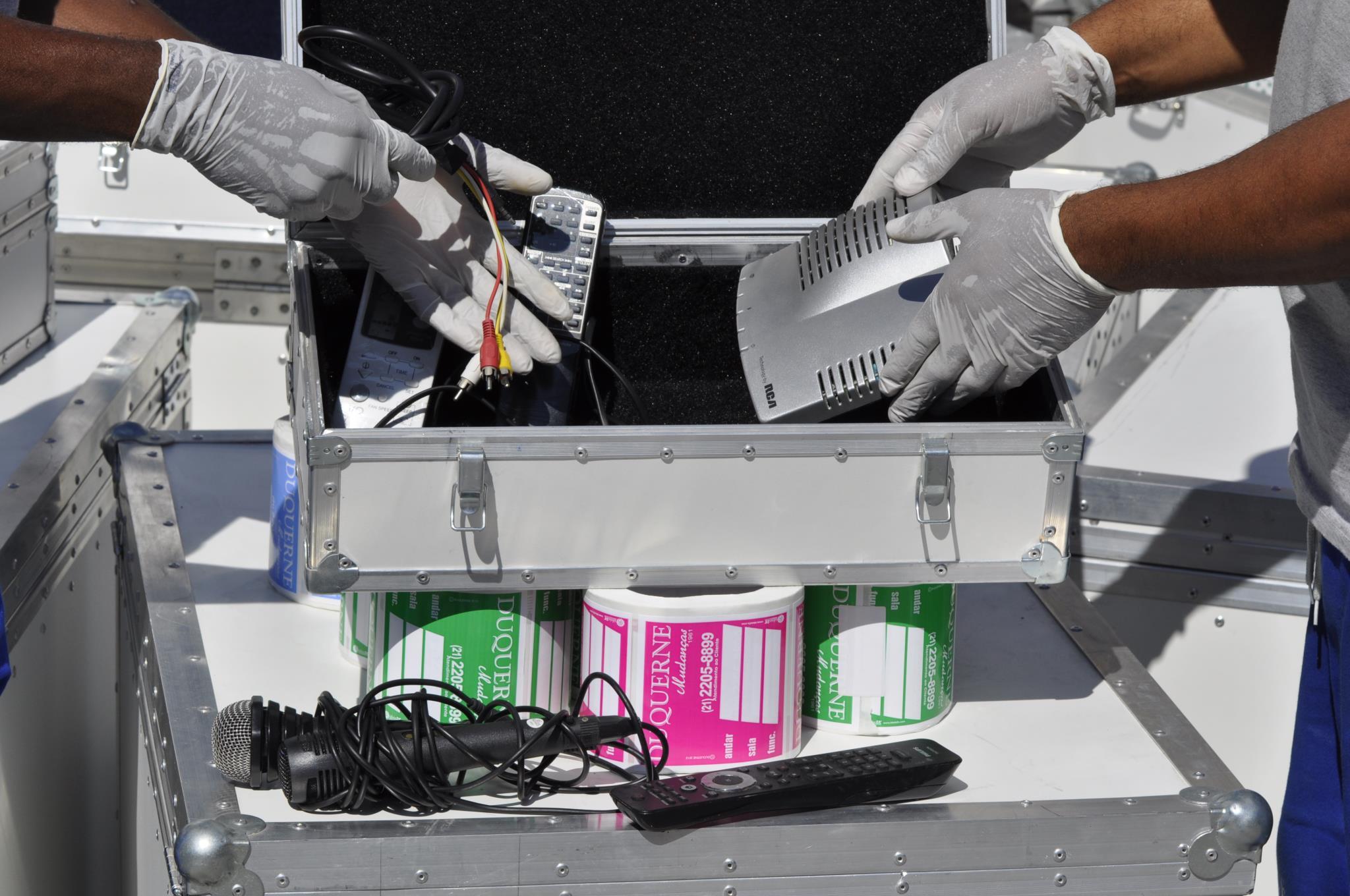 Tech-Box e Mudanças Comerciais - Rio de Janeiro