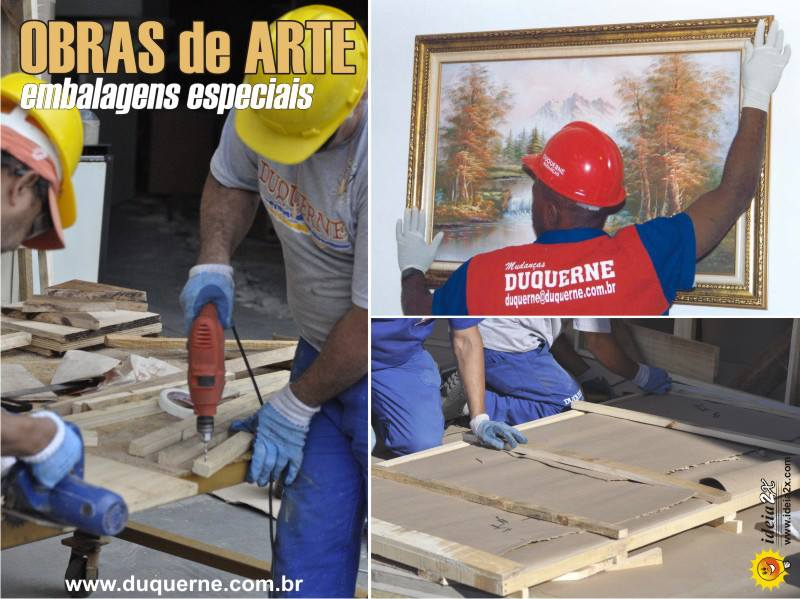 Transporte de Obras de Arte - Mudanças RJ